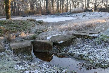 Winter im Stadtgarten von Bottrop