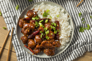 Homemade Chinese General Tsos Chicken Wall mural