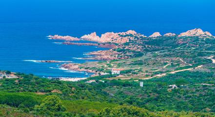 Wall Mural - Landscape of Costa Paradiso, Sardinia island, Italy
