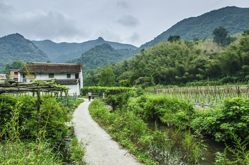 Countryside scenery in China