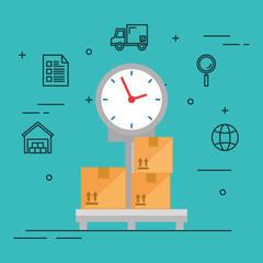 scale balance logistic service