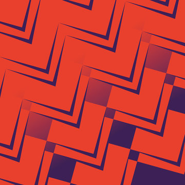 geometric figures and colors pattern background
