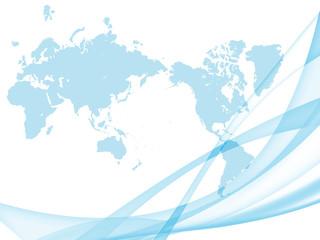 ビジネス背景 グローバル 世界地図 日本地図