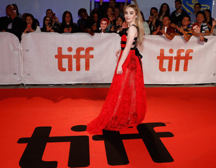 Actor Sabrina Carpenter arrives for the world premiere of The Hate U Give at the Toronto International Film Festival (TIFF) in Toronto