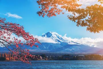 Wall Mural - Mount Fuji in Autumn Color, Japan