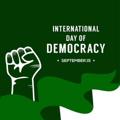 International of Democracy Day Design