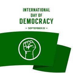 International of Democracy Day Design