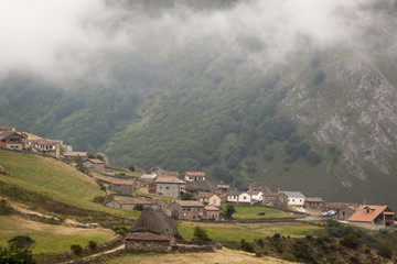 Natural Park of Somiedo in the mountains of Asturias, Spain