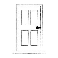 room door isolated icon