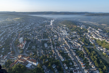 Germany from above - Westfalen, Sauerland, Arnsberg and Neheim from above