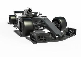 Photo sur Plexiglas F1 F1 car radiography / 3D render image representing an F1 car radiography