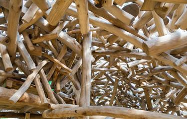 Structure de bois