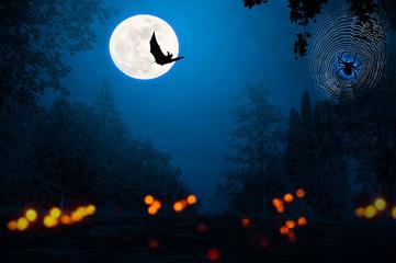 geister in der halloween nacht