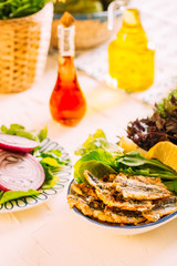 Turkish Fried Anchovy, Hamsi Tava