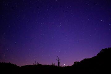 Ein perfekter Nachthimmel