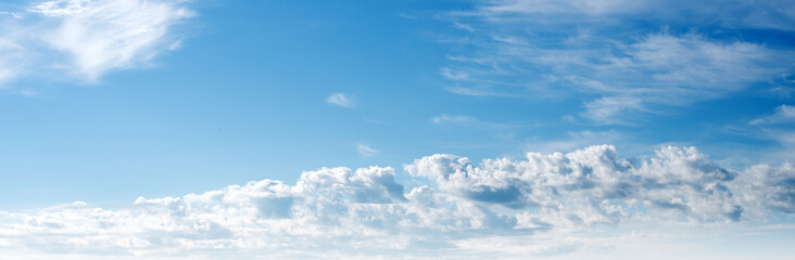 Sky ultramarine clouds