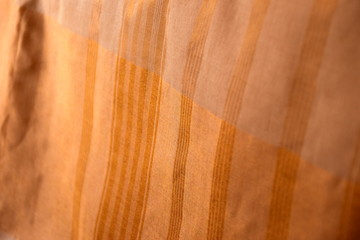 Abstract golden fabric textured background