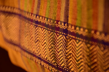 Traditional Indian border motifs and patterns