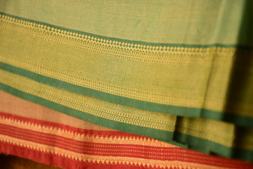Light green traditional Indian sari background