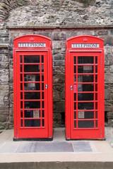 Telefonzelle in Schottland
