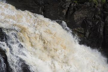 Chute d'eau et Rivière