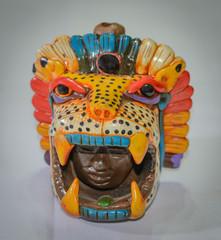 head crafts of jaguar teotihuacan