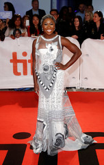 Actor Cynthia Erivo arrives for the world premiere of Widows at the Toronto International Film Festival (TIFF) in Toronto