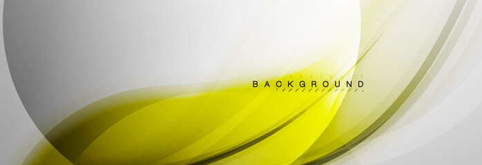 Smooth blur wave background