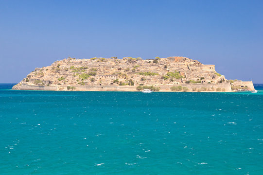 Spinalonga island, Greece