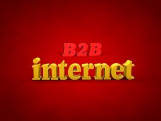 B2B, internet - 3D Design, Word and alphabet Images