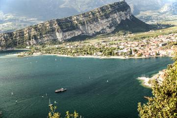 Il Lago di Garda con Torbole e Riva del Garda