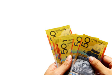Australian Dollar as background
