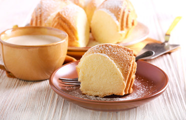 Ciambella ring cake - easy italian soft ring cake