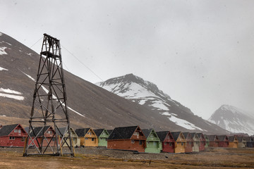 Colourful Houses of Longyearbyen