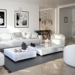 Raumgestaltung: Sitzgarnitur (Focus)