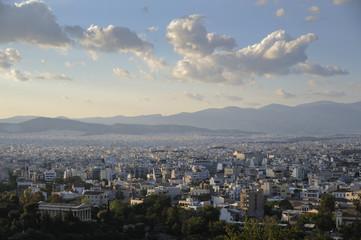 vue d'Athène