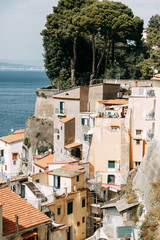 Stores photo Moyen-Orient Views of the city of Sorrento in Italy, panorama and top view. Night and day, the streets and the coast. Beautiful landscape and brick roofs. Architecture and monuments of antiquity. Shops and street