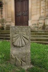 St. Jakob, Bamberg, Jakobsmuschel