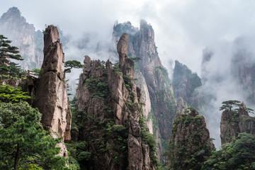 Die Nebelberge in Huangshan