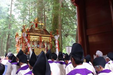 日光東照宮_ 例大祭_神輿 #Shrines and Temples of Nikko. Japan