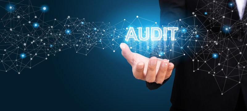 Business showing Audit. Audit concept