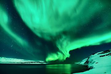 Northern lights in Island