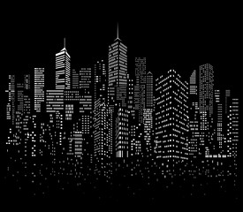 night city windows