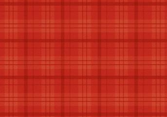 赤いチェックの布