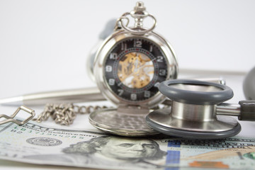 Time money and health care insurance