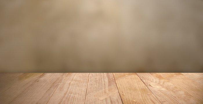 Präsentationsfläche / Hintergrund mit Holzboden