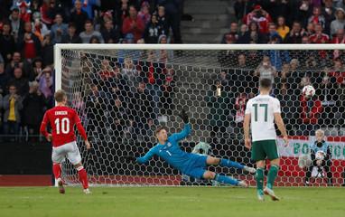 UEFA Nations League - League B - Group 4 - Denmark v Wales