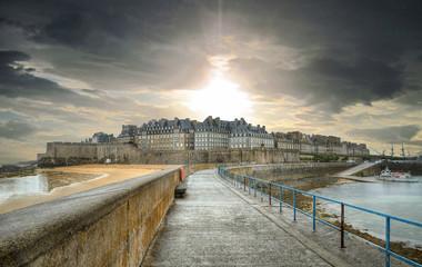 Fotorollo Befestigung Saint-Malo