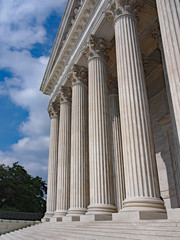 United States Supreme Court Building, columns at entrance