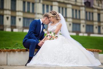 beautiful couple in love honeymoon